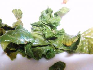 七つ島(無人島)の菜っ葉