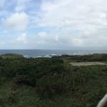 上空からの舳倉島全景